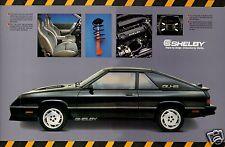 1987 Dodge CHARGER SHELBY 2.2, Refrigerator Magnet, 40 MIL