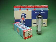 10 x UM84 org. Telefunken <> Röhre  Valve Tube NOS / UM 84 -> Röhrenradio