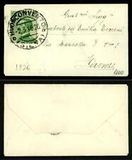 ITALIA - Regno - 1926 - Da Buonconvento a Firenze - 20 c. - Effigie di Vittorio