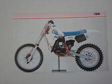 - RITAGLIO DI GIORNALE 1982 MOTO TGM 125 CROSS