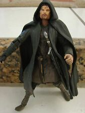 "Lord of the Rings Marvel 2001 Strider Aragorn Action Figure LOTR 6.50"" torch"