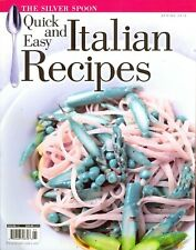 CLEARANCE!  The Silver Spoon Quick and Easy Italian Recipes Spring 2019