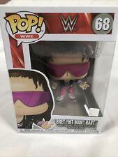 """POP! Vinyl Figure WWE Bret """"Hit Man"""" Hart In Jacket #68  Wrestling Funko"""