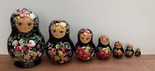 Set Of Handpainted Russian Dolls