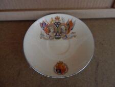 King George V Silver Jubilee 1910-35  Saucer Leighton pottery Burslem