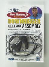 New AFTCO Downrigger Release Clip 30' Black Mono DCW1B