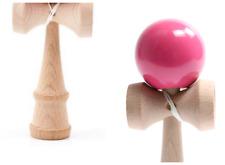 Kendama Holz Kugelfangspiel mit (Ersatz Schnur) farbige glänzende Lackierung
