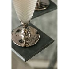Set Of 4 Square Black Marble Coasters Drinks Coffee Mug Table Mats Placemats New