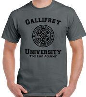GALLIFREY UNIVERSITY T-SHIRT Mens Doctor Who Unisex Top Tardis Tee