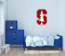Stanford Cardinal NCAA Football Wall Decal Vinyl Sticker For Room Home