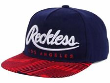 Young And Reckless Big R Script Blue Adjustable Snap Back Cap Hat