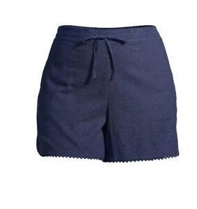 Terra And Sky Women's Plus Size 5X Ruffle Edge Shorts NWT