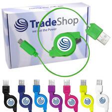 USB Kabel Ladekabel ausziehbar für Samsung Wave 578 Galaxy Y Duos