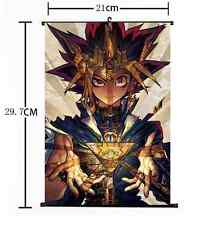 Anime Yu-Gi-Oh Zexal Yuma Tsukumo Duel Monster Home Decor Poster Wall Scroll 007