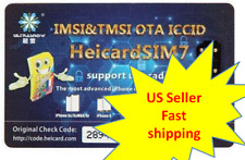 Heicard Turbo unlock Chip Sim Card Sprint Tmobile ATT iPhone XS/X/8/7/6s ios13