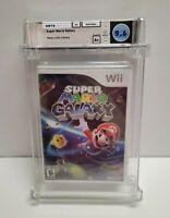 Super Mario Galaxy - NEW Factory Sealed - WATA 9.6 A+ Graded Nintendo Wii