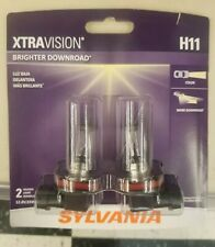 Sylvania XtraVision H11 Brand New And Sealed /Brighter Downroad! Low Price!! 💡