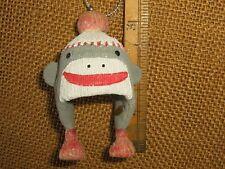 Funky Monkey Winter Ski Snowboard Beanie Hat Christmas Tree Ornament cap