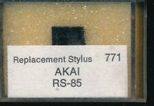 """AIGUILLE record needle PICK-UP REPLACEMENT STYLUS 771 AKAI RS-85 SR DIAMOND"