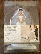 Asian Bride Figure JAMIE LYNN TY WILSON Cakeside Statuette Cake Topper NEW n box