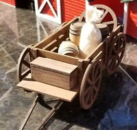 G SCALE HORSE FARM CART BUGGY kit