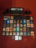 Sears Telegames Atari 2600 Console + 48 Games