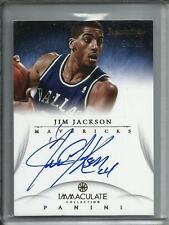 Jim Jackson 12/13 Immaculate Collection Autograph #54/99