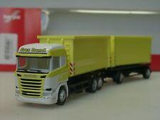 """Herpa Scania R HL """"Sven Brandt Transporte"""" Abrollmulden-Hzg, 307345 - 1/87"""
