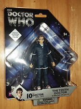 Doctor Who 10th Doctor Blue Suit with Glasses Action Figure