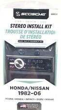 Scosche Ui3050F Car Truck Suv Stereo Install Kit Honda / Nissan 1982 - 2006 New