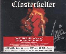 CLOSTERKELLER reSCARLET SCARLET SIGNED BY ANJA ORTHODOX RARE POLISH ONLY RELEASE