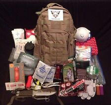TAC-32 Deluxe Bug Out Bag / Emergency Water Filter Tactical Backpack / Prepper