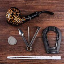 Coffret pipe à tabac en bois et résine bakelite