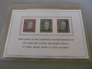E1182) DDR** Block 15 Buchenwald postfr tadellos !!