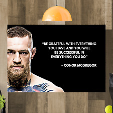 Conor Mcgregor Canvas Wall Art Picture Print Ready To Hang