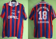 Maillot Adidas Fc Bayern Munchen Opel Munich Klinsmann Ancien trikot Jersey - XL