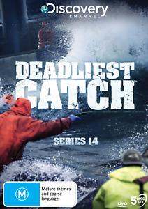 BRAND NEW Deadliest Catch : Season 14 (DVD, 5-Disc Set) R4 Series Fourteen