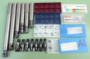 13 DEPO Einschraubfräser M8 Fräskopf Messerkopf Wendeplatten Fräser WSP RDHX VHM