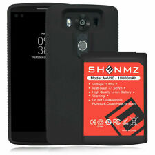 for Lg V10 Battery Bl-45B1F Battery Replacement 10800mAh & Lg Phone Case
