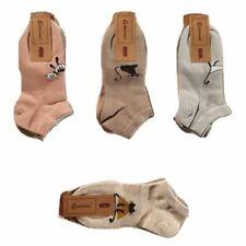 lot de 6 paires de socquettes femme coton (2)