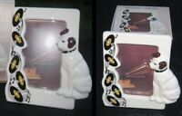 Nipper Victor Edison dog and phonograph ceramic photo frame NOS vintage