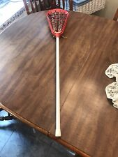 New listing VINTAGE RARE Brine Cup lacrosse stick shaft head red white OLD SCHOOL!!!!!!