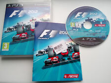 PS3 - F1 2012 (Formula One) ** Official UK Stock **
