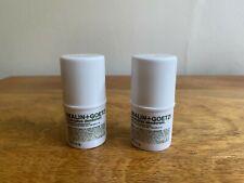 Duo ~ Malin + Goetz Eucalipto Desodorante 5.1g X 2 Minis ~ nuevo y fresco