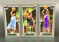 ❤️2003 Topps Carmelo Anthony Dwyane Wade and Chris Bosh Rookie Card - 4 Charity