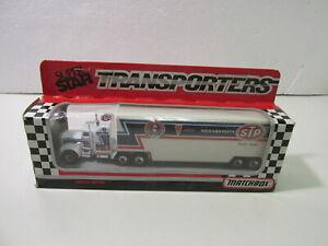 Matchbox 1991 Super Star Transporters Petty STP Racing Diecast Hauler dc2897