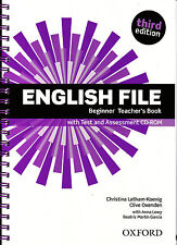 Oxford ENGLISH FILE THIRD EDITION 2015 Beginner TEACHER'S BOOK with CD-ROM @NEW@