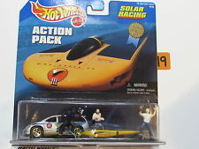 HOT WHEELS ACTION PACK SOLAR RACING CAL STATE L.A SOLAR EAGLE III