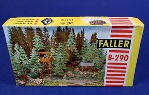 Faller HO Scale Ranger Station Forest Lookout Building Kit B-290