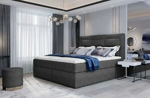 Textile Design Bed Double Beds Luxury Wedding Modern Hotel Frame Sleep Room